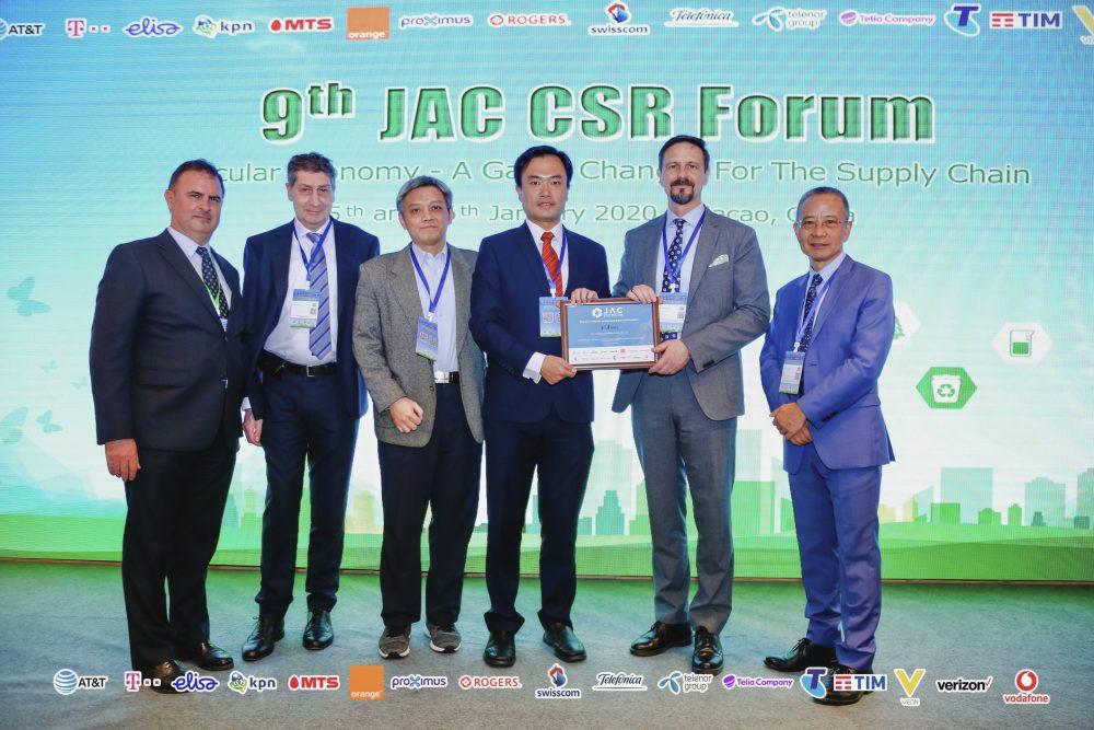 JAC award